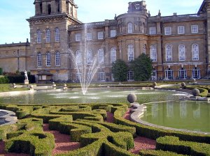 Blenheim Palace Oxfordshire, England