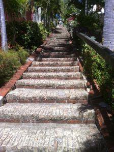 Ella Quinn stairs